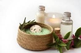 Массаж тела с ароматическими маслами